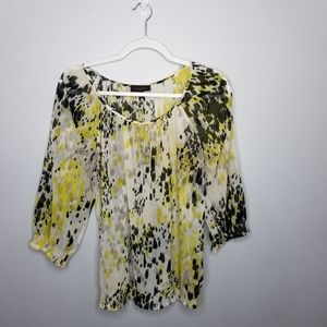 The Limited Womens 3/4 size small blouse